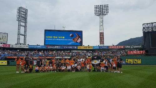 이삐와함께 캐치볼 7월 0일