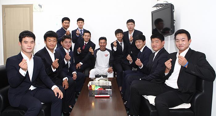 신인선수들 사진
